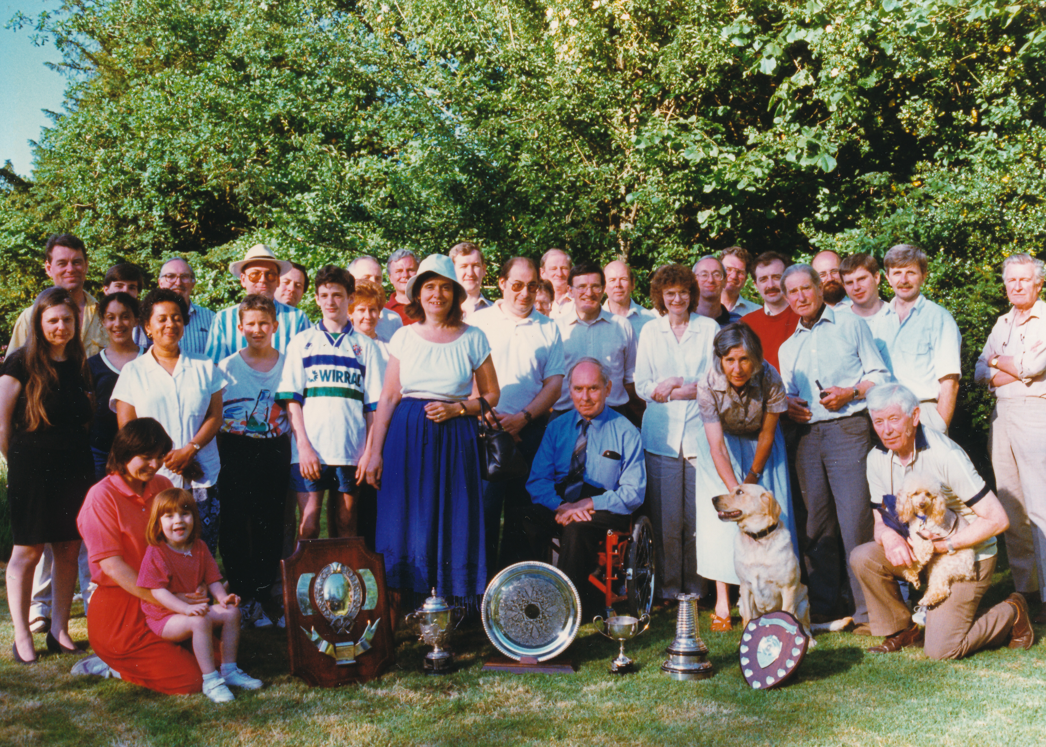Crowthorne Chess Club Members circa 1994