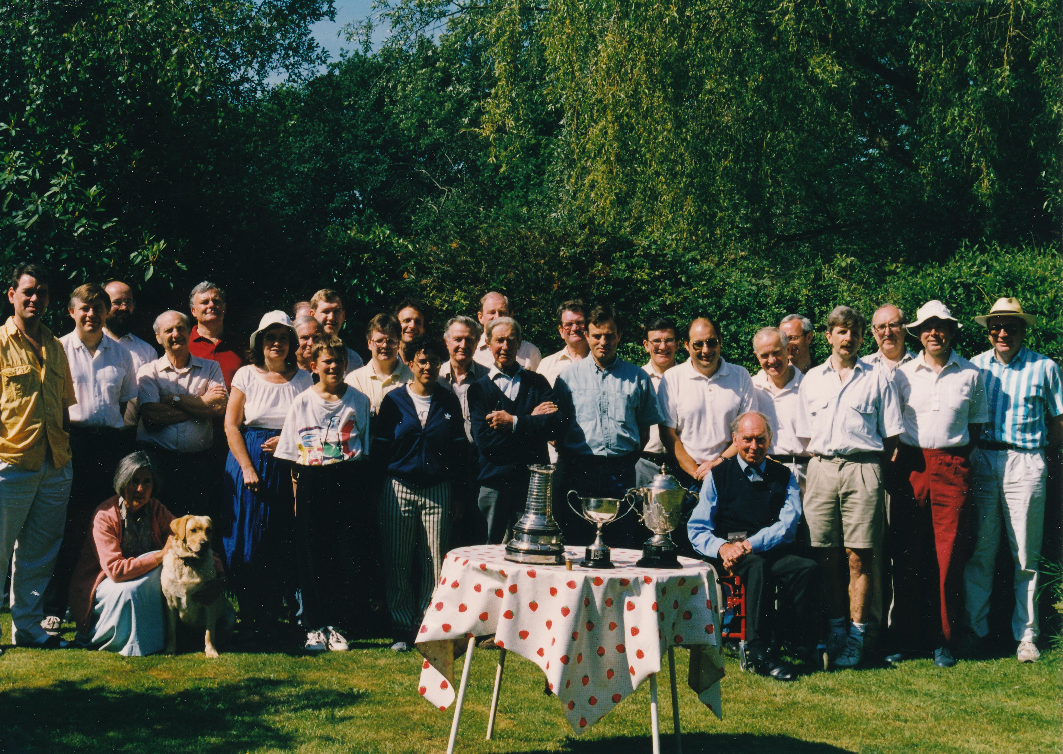Crowthorne Chess Club Members circa 1994